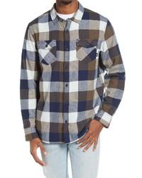 Vans Box Flannel Button Up Shirt