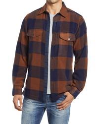 Fjallraven Canada Buffalo Check Button Up Shirt