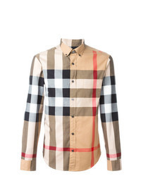 Multi colored Check Long Sleeve Shirt