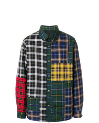 Lanvin Patchwork Checked Shirt
