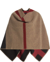 Burberry Prorsum Check Wool Cashmere Blanket