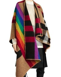 Multi colored Check Shawl