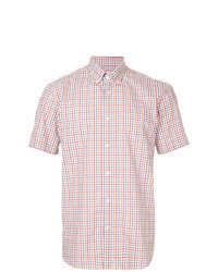 Multi colored Check Short Sleeve Shirt