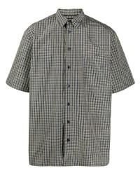 Raf Simons Oversized Check Shirt