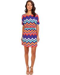 Amari chevron dress medium 102748