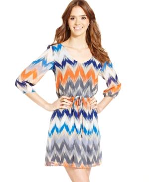 Be Bop Bebop Juniors Chevron Print Dress | Where to buy & how to wear