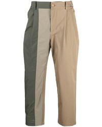 Feng Chen Wang Asymmetric Panel Chino Trousers