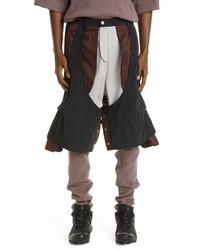 BRYAN JIMENE`Z Bryan Jiez Multilayered Trousers