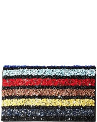 Multi stripe be clutch clutch handbags medium 3638579