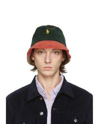 Polo Ralph Lauren Multicolor Corduroy Loft Bucket Hat