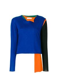 JW Anderson Asymmetrical Colour Block Sweater