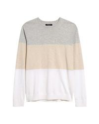 Nordstrom Men's Shop Birdseye Crewneck Sweater