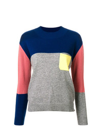 Chinti & Parker Cashmere Colour Block Sweater