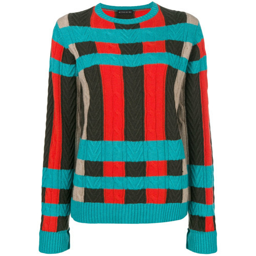Etro Large Check Jumper