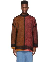 Loewe Multicolor Wool Mohair Oversized Sweater
