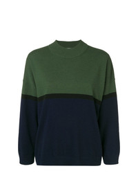 Sonia Rykiel Two Tone Knit Jumper
