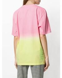 MSGM Dip Dye T Shirt