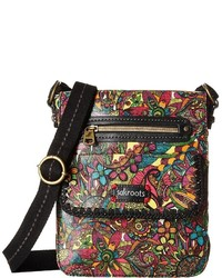 Sakroots Artist Circle Small Flap Messenger Cross Body Handbags
