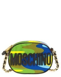 Moschino Rainbow Chain Crossbody Bag None