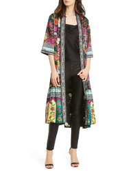Alice + Olivia Dottie Reversible Open Jacket