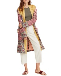 Free People Maggie Patched Duster Jacket