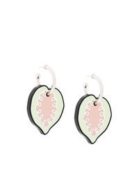 Marni Drop Heart Earrings