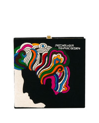 Milton glaser book clutch medium 7486256