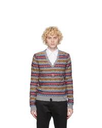Maison Margiela Mutlicolor Reverse Fair Isle Sweater