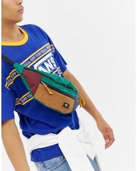 Vans Cross Body Bag In Multi Colour Block Vn0a2zxxwup1