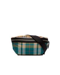 Burberry Multicoloured Sonny Check Print Cross Body Belt Bag