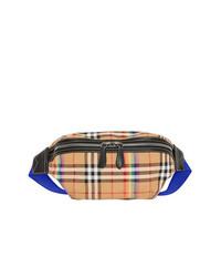 Burberry Rainbow Check Belt Bag
