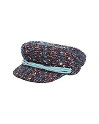 Maison Michel New Abby Tweed Baker Boy Cap