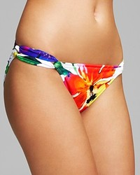 Ralph Lauren Blue Label Tropical Poppy Twist Hipster Bikini Bottom