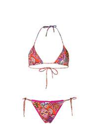 Etro Mixed Print Bikini Set