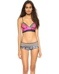 Scribble scarf bikini top medium 208761