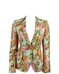 Stella McCartney Floral Jacquard Jacket Blazer