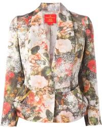 Vivienne westwood floral print blazer medium 147323