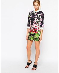 dd6a559601d4 ... Ted Baker Dress In Mirrored Tropical Print ...