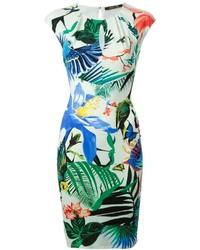 Roberto Cavalli Tropical Print Dress