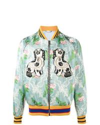 81c6a30e37394 Men's Floral Jackets by Gucci   Men's Fashion   Lookastic.com