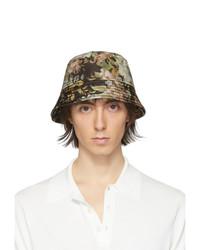Dries Van Noten Multicolor Floral Gillian Bucket Hat