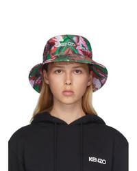 Kenzo Pink Vans Edition Floral Bucket Hat