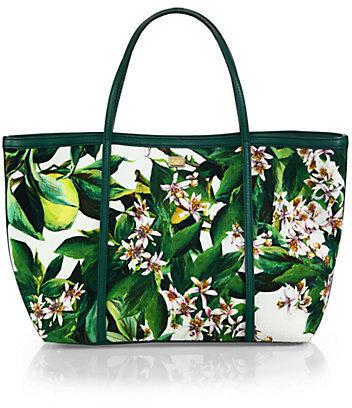 3d10d4c396 ... Dolce   Gabbana Floral Print Canvas Tote