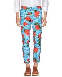Multi colored Floral Chinos