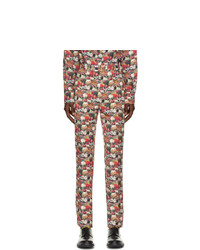 Paul Smith 50th Anniversary Multicolor Cotton Gents Trousers