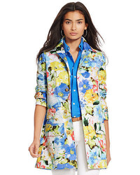 Multi colored Floral Coat