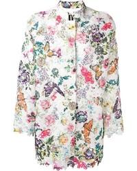 I m isola marras floral print lace coat medium 547673