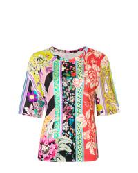 Etro Floral Paisley Print T Shirt