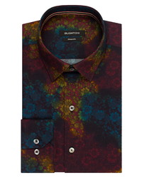 Multi colored Floral Dress Shirt