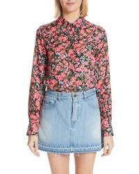 Marc Jacobs Floral Print Shirt